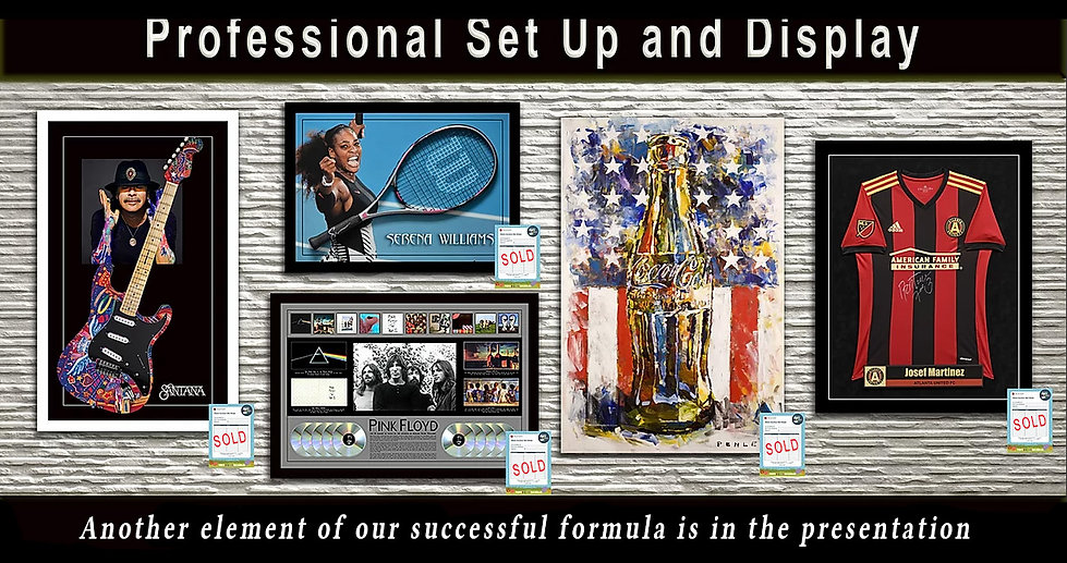 banner element of  our successful formul