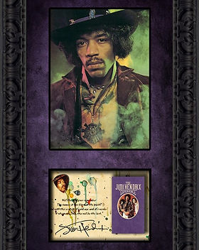 Hendrix - Are You Experienced - Framed.j
