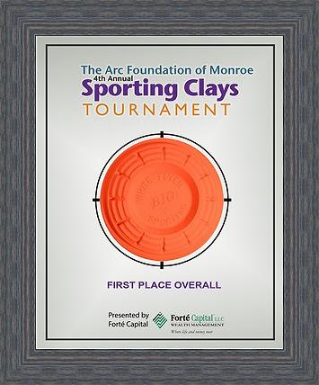 Sporting Clay Award 11x14