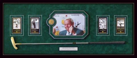 Arnold Palmer shadowbox putter