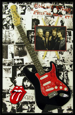 Roilling Stones Guitar Shadowbox