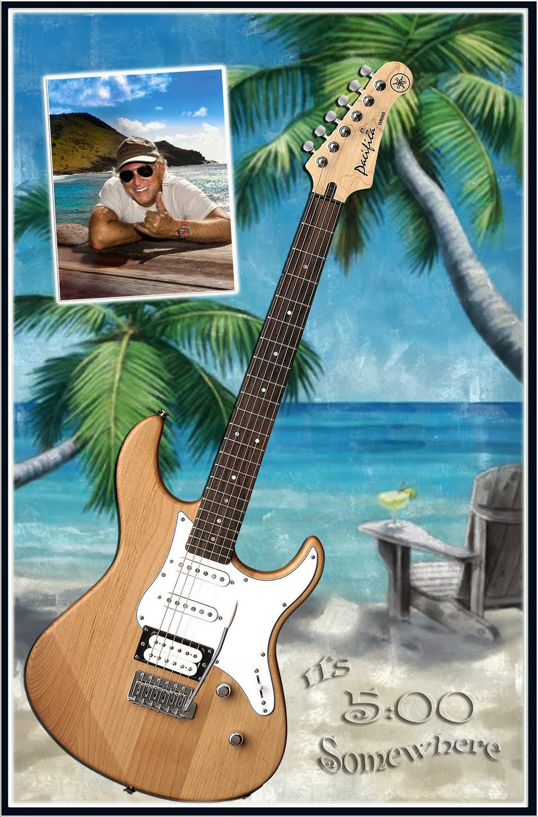 Jimmy Buffet shadowbox ll