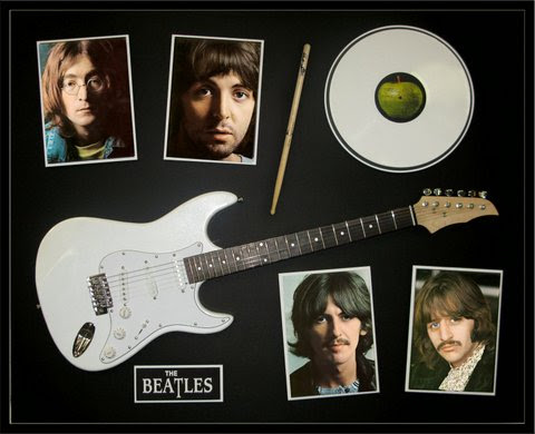 Beatles White Album Guitar Ringo Stick