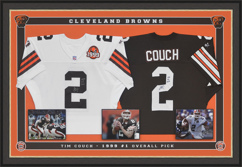 Cleveland browns double 3D Jersey Shadow