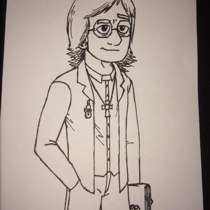 Edward Hobbs drew this