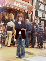 18 years old and in Carnaby Street!
