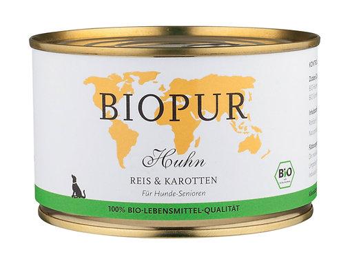 Pollo riso & carote (senza glutine)