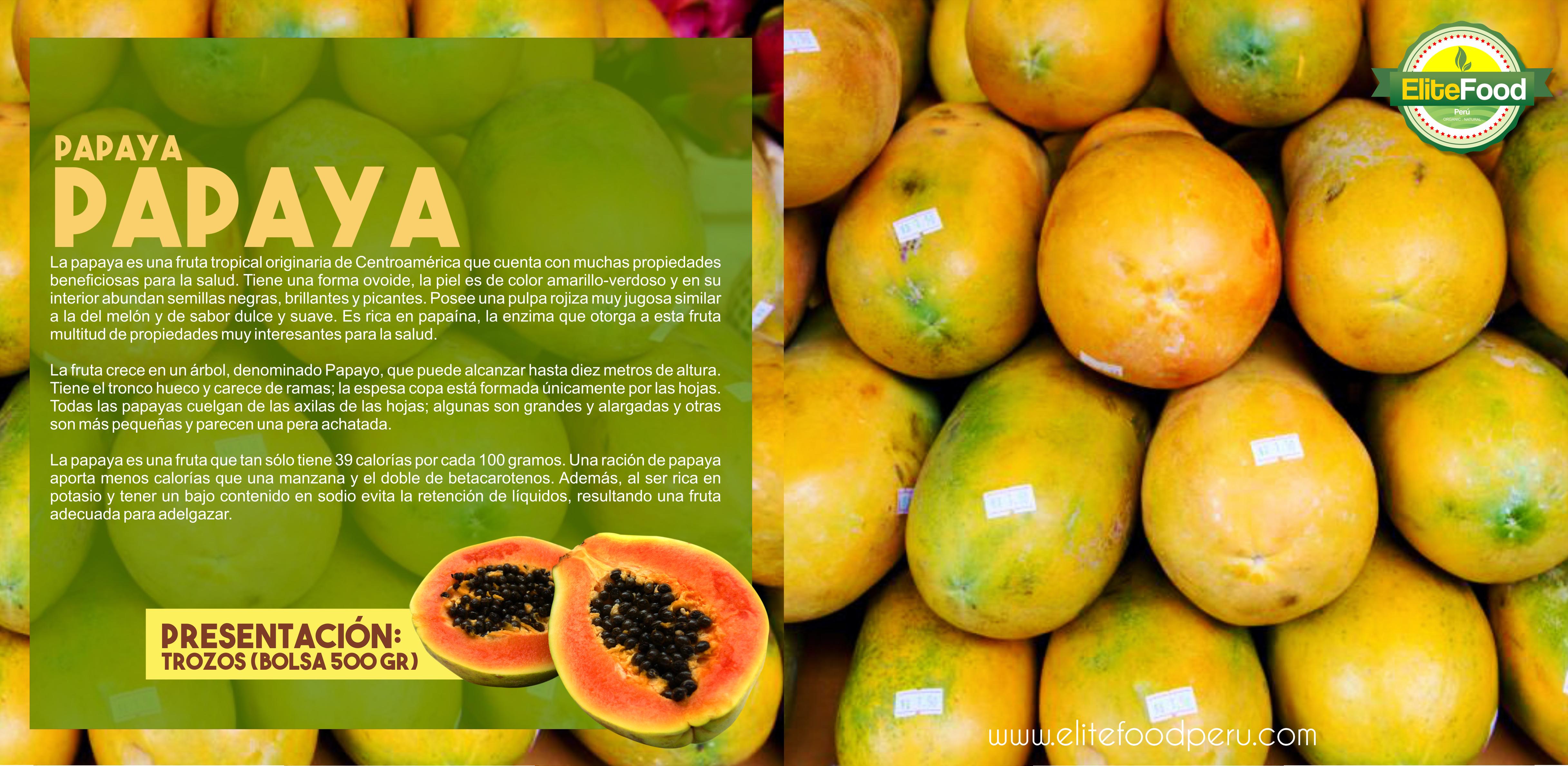 Elitefoodperu Catalogo Frutas