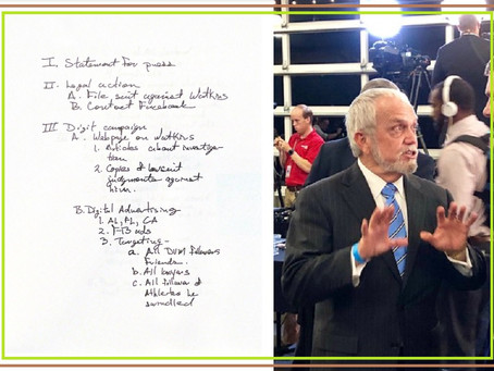 "Joe Perkins' Handwritten ""Dirty Tricks"" Notes Exposed"