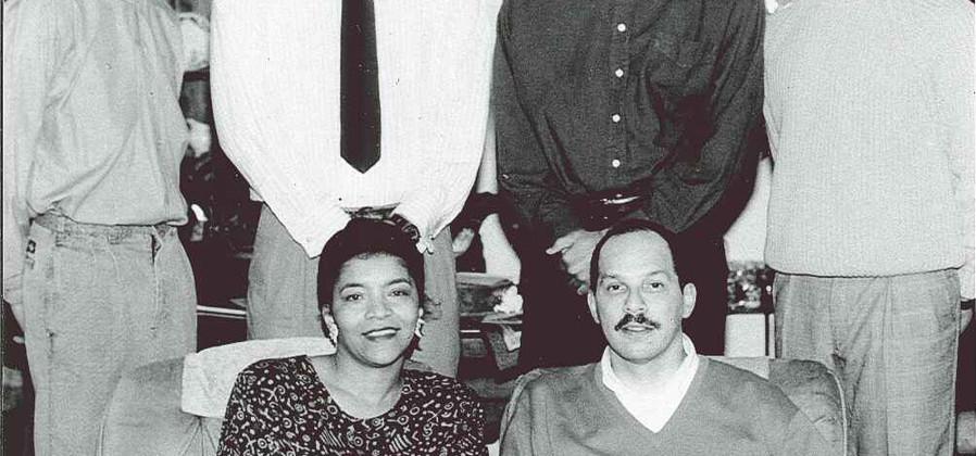 DeAndra and Donald Watkins Family (Christmas 1993)