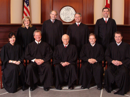 Alabama Appellate Courts: Still All-White in 2021