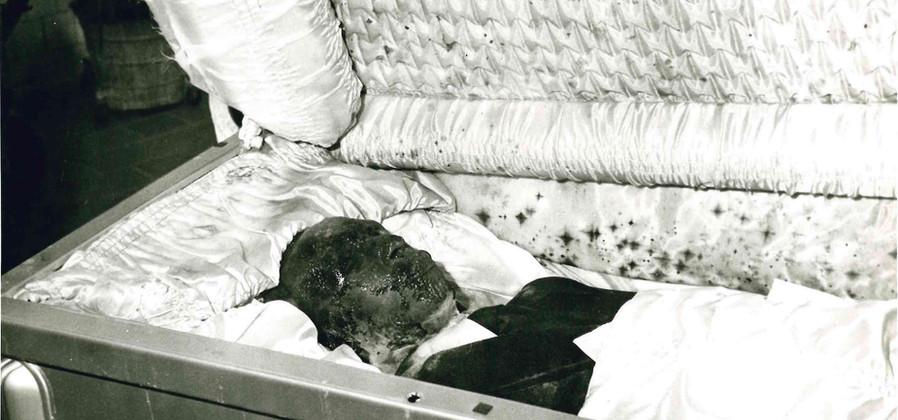 Bernard Whitehust's Casket Opened After Exhumation