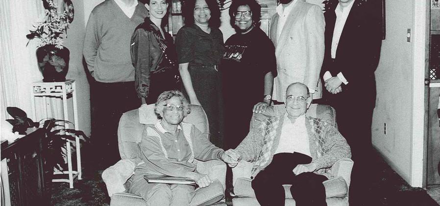 Lillian and Levi Watkins Family (Christmas 1993)