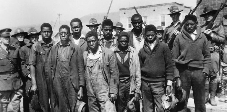 """Scottsboro Boys"" Under Arrest in Alabama"