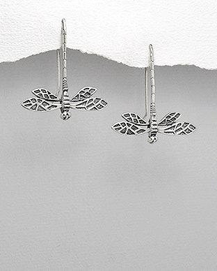 Dragonfly Thread Earrings