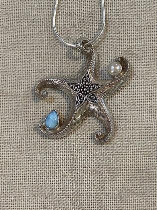 Starfish & Gemstones LG