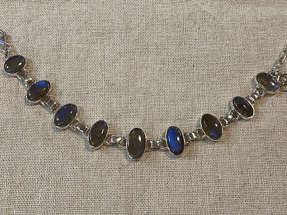 Labradorite Ovals Bracelet