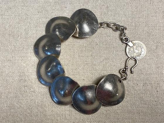 Pewter Circles Bracelet