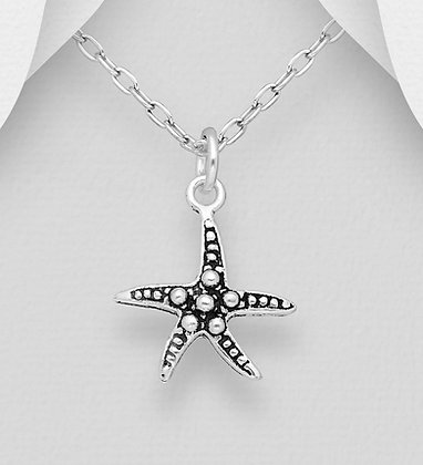 Petite Starfish Pendant