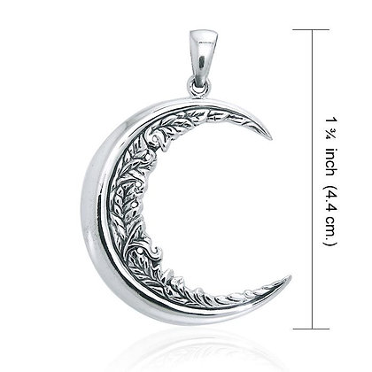 Moon Flower Pendant