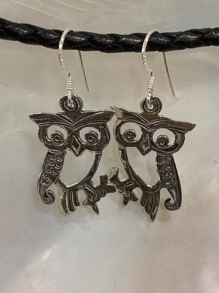 Owl Full Body Earrings