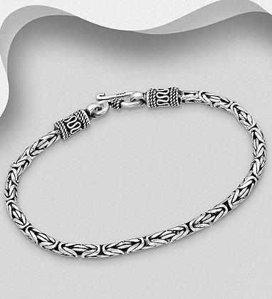 Heavy Woven Byzantine Bracelet