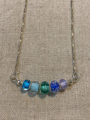 5 Sand Bead Necklace