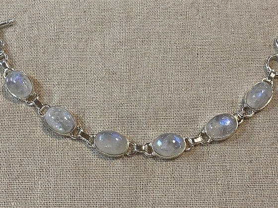 Moonstone Ovals Bracelet
