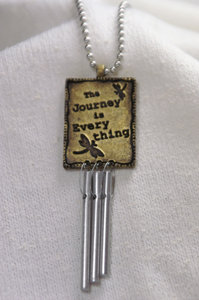 The Journey is Everything Musical Car Chimes