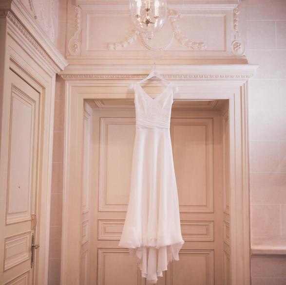 La robe de Norah au Beau Rivage Palace Genève