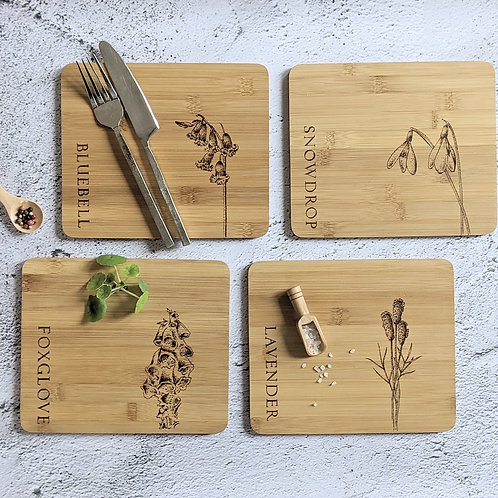 The Flower Collection Placemat Set