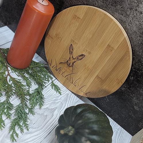 Hare Bamboo Wood Board