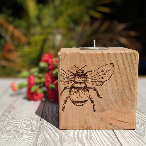 Bumblebee Candle Cube