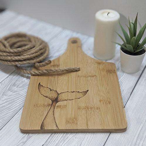 Whale Bamboo Wood Board