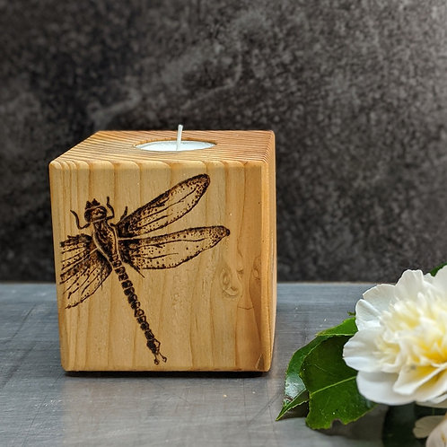 Dragonfly Candle Cube