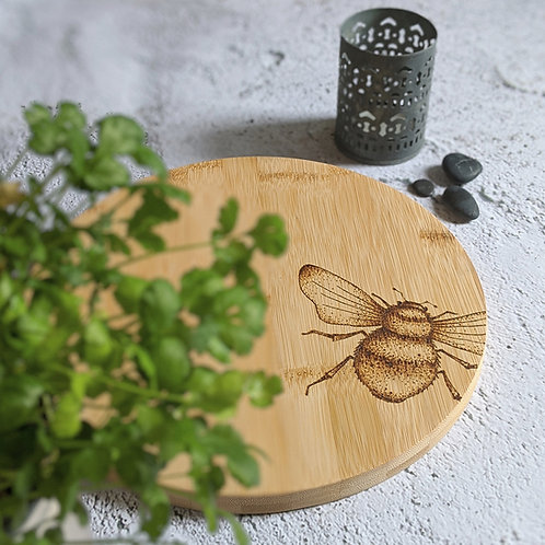Bee Bamboo Wood Board