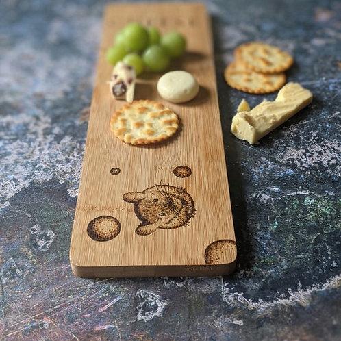 Cheeky Cheese Bamboo Wood Board