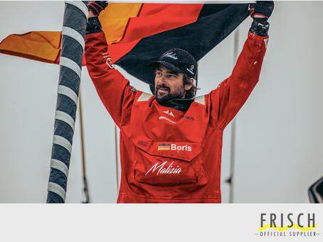 Peter Frisch GmbH verlängert die erfolgreiche Partnerschaft mit Boris Herrmann Racing
