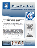 Lown Group newsletter From the Heart