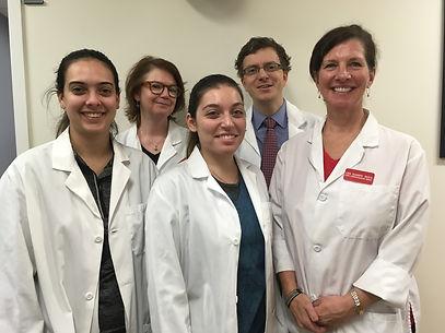cardiac testing team at Lown Cardiovascular
