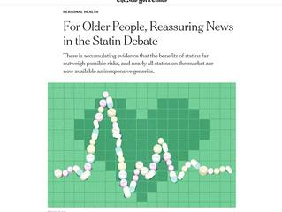 For Older People, Reassuring News in the Statin Debate