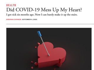 Did COVID-19 Mess Up My Heart?