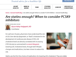 Are Statins Enough? When to Consider PCSK9 Inhibitors