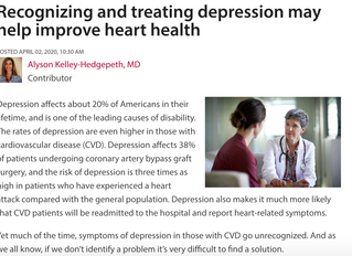 Recognizing and Treating Depression May Help Improve Heart Health