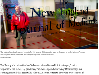 It is the first time the prestigious medical journal has taken a stance on a U.S. presidential elect