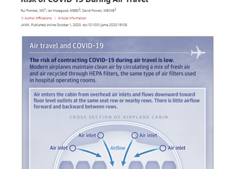 How safe is air travel?