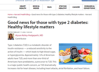 Good News For Those with Type 2 Diabetes: Healthy Lifestyle Matters