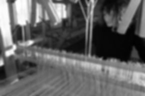Floor loom portrait