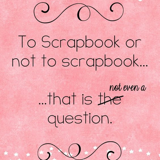 Scrapbook Day