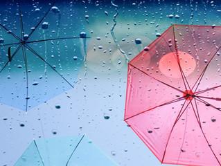 雨の日の「雨冷えにご注意を」